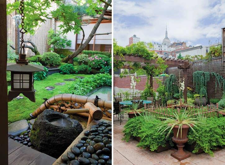 Japanese garden design featured in sky gardens One-Coffee-Table-Book-Reveals-New-York-City's-Breathtaking-Elaborate-Roftop-Gardens-Rooftop