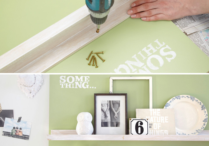 DIY Wall Storage Ideas–Get Creative-3 Simple Shabby Chic Organizing ...