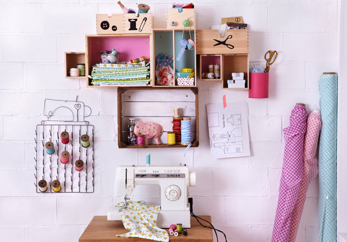 Diy Wall Storage Ideas Get Creative 3 Simple Shabby Chic Organizing Projects
