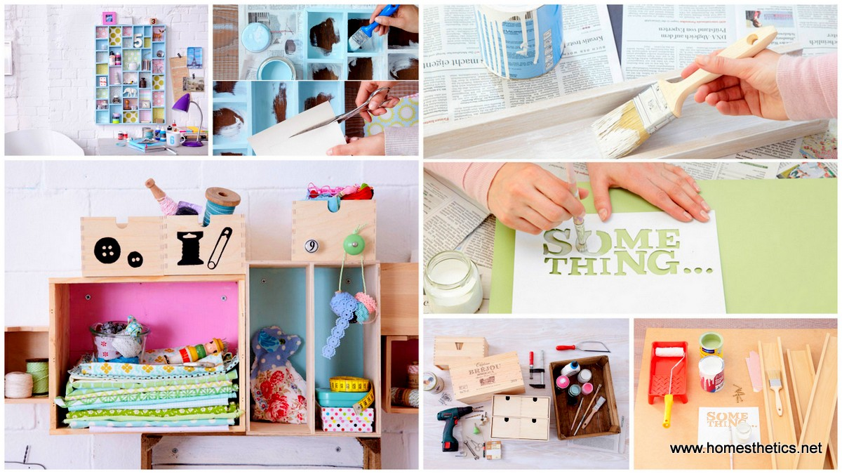 diy wall storage ideas get creative 3 simple shabby chic organizing
