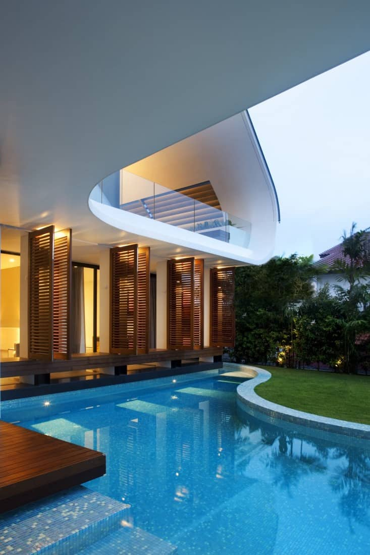 modern mansions exmaples