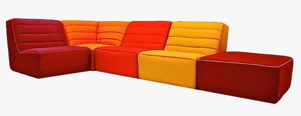 34. THE MODULAR DOMINO sofa