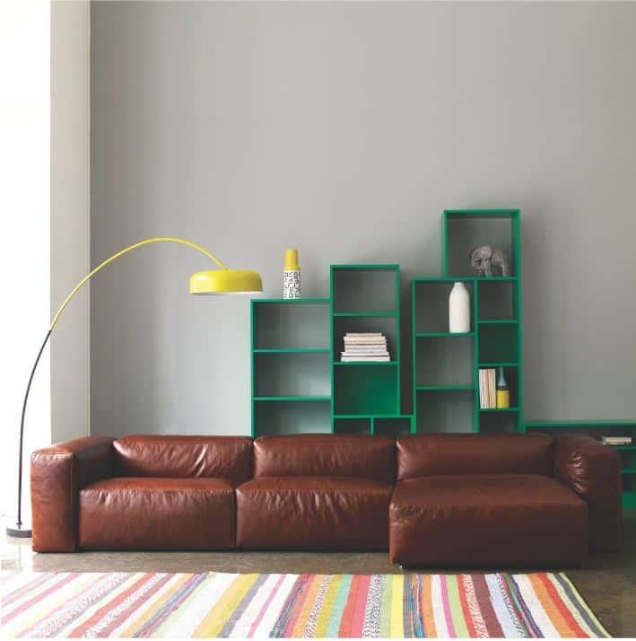 27 Splendidly Comfortable 7. TAN LEATHER OPOLLO Floor Level Sofas to Enjoy